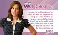 I took Zimbio's 'Mean Girls' personality quiz and I'm Ms. How To Speak Russian, Don't Speak, Girls Characters, 10 Anniversary, Mean Girls, Funny Cute, Good People, Work Hard, Drama