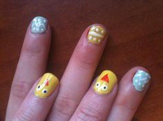 Easter Nails with Instructions