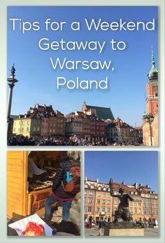 Travel to Warsaw, Poland