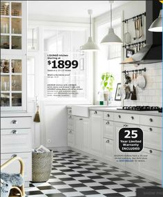 ikea kitchen ... Amy this is the kitchen I was talking about .... Loves it!!