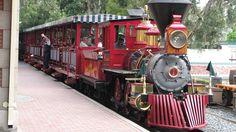 Woo Hoo!  All Aboard!  The Disneyland Train!