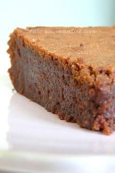 Fondant corse au chocolat et à la farine de chataigne - www.Puregourmandise.com