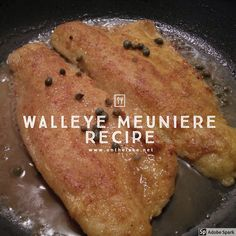 Walleye Meuniere Recipe