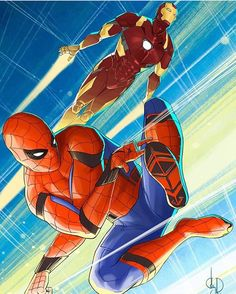 Awesome Spider-Man: Homecoming fan art, credit to artist