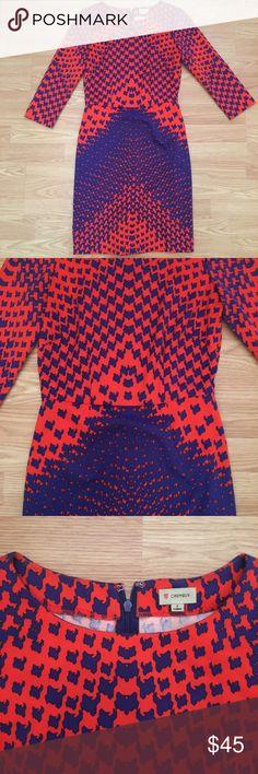 Cremieux dress. Super cute print dress by Cremieux. Very comfortable! Daniel Cremieux Dresses