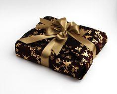 Fabric Christmas Gift Wrap, Luxury Reusable Gift Wrap £3.95