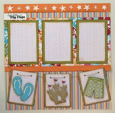 Liz's Paper Loft: Scrappy Moms Stamps Terrific Tuesday Challenge