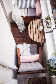 kleine zimmerrenovierung garten diy dekor, 5 clever ways to beautify your apartment balcony | outdoor garden, Innenarchitektur