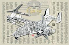 Cutaways, Cortes Esquemáticos de Aviones   Página 89   Zona Militar