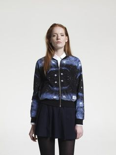 Space Bomber Sweat Jacket - A Question of