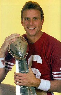 Joe Montana Passing Leader (all-time): yards Nfl 49ers, 49ers Fans, 49ers Players, Football Players, Best Football Team, Nfl Football, College Football, Forty Niners, Joe Montana