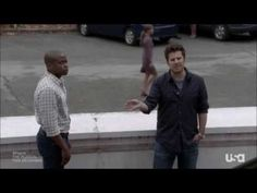 Psych The Musical - Extract (Part 1). I was worried for awhile but this is hilarious! Lassie singing=amazing!