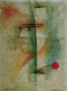 Paul Klee - Bildnis eines Kostümierten