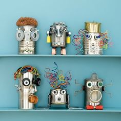recycled robots!