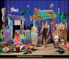party decorations beach theme - Google Search