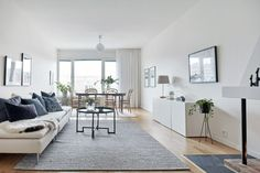 AH2 Nordic Living, Living Room Interior, Home Decor Inspiration, Decoration, Great Rooms, Living Area, Sweet Home, Gallery Wall, Architecture