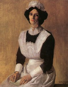 The Maid - George Lambert