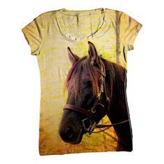 Yellow Pride Horse