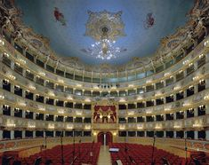 Large Format Photographs Capture Ornate Opera Houses From Around the World