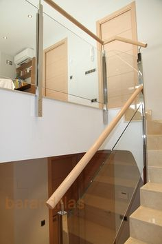 1000 images about escaleras on pinterest puertas tags - Barandilla escalera interior ...