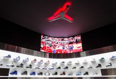 The continued globalization of American sneaker culture was recently brought to Madrid when Foot Action opened their state-of-the-art flagship store, which focuses on the history and future of sneaker innovation.  The staple of the shop is without a doubt the interactive Air Jordan room that allows customers to relive Michael Jordan's playing days and the history of his legendary sneaker line. A curved LED screen is activated when a customer lifts one of the 14 3D miniature Air Jordans on…