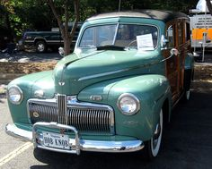 1942 Ford Super Deluxe Woody Wagon by bsabarnowl, via Flickr. Because Woodys rock.