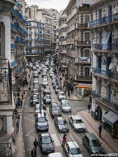 """Alger la blanche""""rue didouche Mourad"""""""