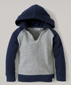 Look what I found on #zulily! Heather Gray Color Block Hoodie - Infant & Toddler #zulilyfinds