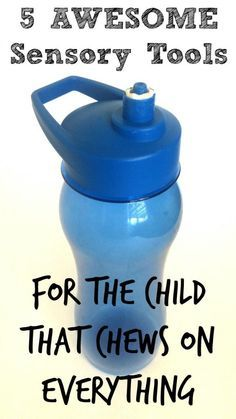 Do you have a child that chews on everything? They may be an oral sensory seeker. See our list of 5 awesome sensory tools for the child that chews on everything Sensory Therapy, Sensory Tools, Autism Sensory, Sensory Diet, Sensory Issues, Therapy Activities, Sensory Play, Speech Therapy, Sensory Bags