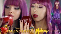 I just uploaded a Descendants 2 Mal Makeup tutorial! I hope you guys enjoy! outfit details are also in the description.   #descendants #descendants2 #teammal #d2mal #disneychannel #dovecameron