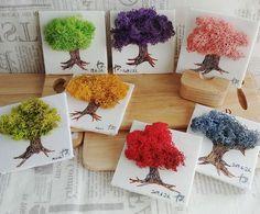 Art Attak, Moss Art, Polymer Clay Art, Place Card Holders, Frame, Crafts, Wedding, Home Decor, Plant