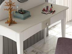 Coiffeuse laquée avec miroir. Mod. NP174-E Decoration, Cabinet, Storage, Design, Furniture, Home Decor, Vanities, Drawer, Decor