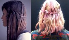 StyleBlazer Beauty: DIY Waterfall Braid (Spruce Up Your Mane with this Easy to Execute Hairstyle!) | http://styleblazer.com/65172/diy-the-waterfall-braid-spruce-up-your-mane-with-this-easy-to-execute-hairstyle/#