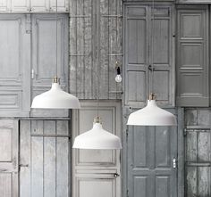 New collection by #IKEA coming October 2013. Inspired on comfort for the dark and cold Autumn nights | RANARP, industrial lights with bronze details and fabric rope