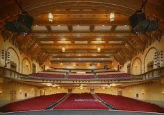 Audience area of the Bob Hope (Fox) Theatre in Downtown Stockton, California www.celebratestockton.com