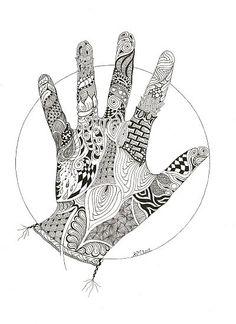 Mandala Atelier: Zentangle / Zendala cool concept I have an idea!!!!!!!!!!!!!!!!!!!!!!! (realism....)
