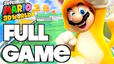 super mario 3d world full game - YouTube