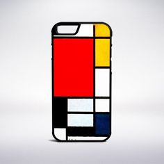 Piet Mondrian - Composition With Large Red Plane, Yellow, Black, Gray – Muse Phone Cases