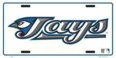 Toronto Blue Jays Metal Novelty License Plate