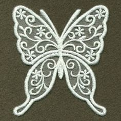 Organza Decorative Butterfly 7 - 4x4   What's New   Machine Embroidery Designs   SWAKembroidery.com Ace Points Embroidery