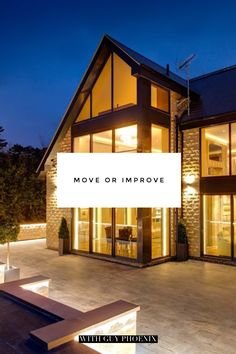 Trying to decide whether to Move or Improve?  Take a look at our latest blog post, you may be surprised.