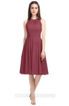 170f61897c6 ColsBM Ivory - Wine Bridesmaid Dresses