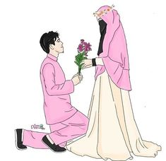 Read Couple Halal from the story Gambar Muslimah by (Zhafira Rochimi) with reads. Wedding Couple Cartoon, Love Cartoon Couple, Cute Couple Art, Cute Love Cartoons, Cute Muslim Couples, Muslim Girls, Romantic Couples, Cute Couples, Best Facebook Profile Picture