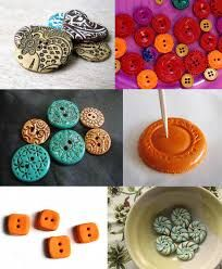 Image result for polymer clay buttons