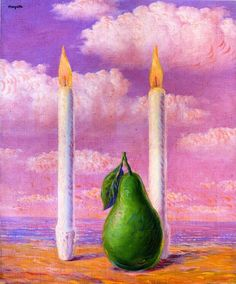 * René Magritte - - - The land of fire