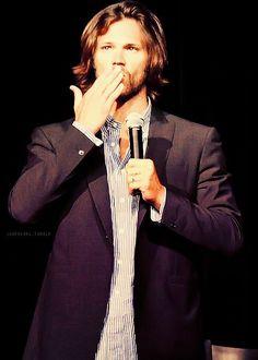 Jared And Jensen, How To Apologize, Supernatural Fandom, Sam Winchester, Jared Padalecki, Crushes, Eyes, Cat Eyes
