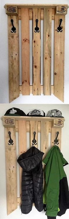 Recycled pallet home decor
