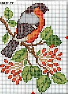 Trendy ideas for home sweet hom cross stitch charts free pattern Cross Stitch Bird, Cross Stitch Animals, Cross Stitch Flowers, Cross Stitch Charts, Cross Stitch Designs, Cross Stitching, Cross Stitch Embroidery, Hand Embroidery, Cross Stitch Patterns