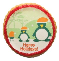 Custom photo Christmas cookies from Fashionably Sweet Treats! $4 per cookie - perfect for parties and holiday gifts! #giftidea #ediblegift #customcookies #photocookies #holidays
