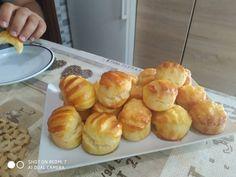 Pogácsa (hűtős) Pretzel Bites, Bakery, Muffin, Bread, Breakfast, Food, Morning Coffee, Brot, Essen